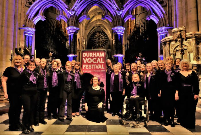 Unity Choir, The Singing Elf, Durham Vocal Festival, Durham Cathedral, Feb 2019
