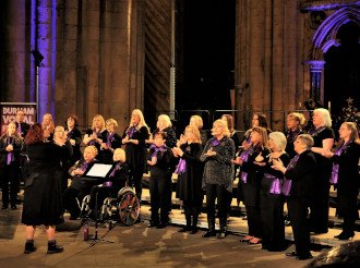 Unity Choir, The Singing Elf , Durham Vocal Festival, Durham Cathedral