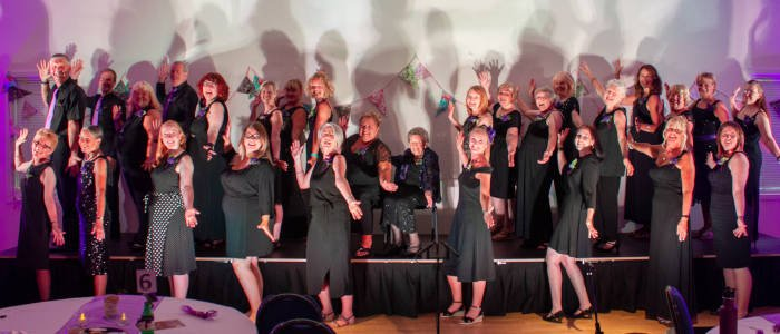 Unity Choir, The Singing Elf , Summer Gala, The Hetton Centre, July 2018