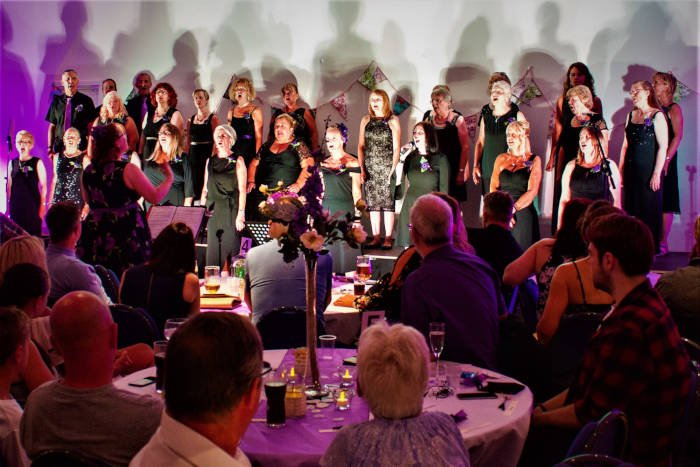 Unity Choir, The Singing Elf, Summer Gala, The Hetton Centre, July 2018