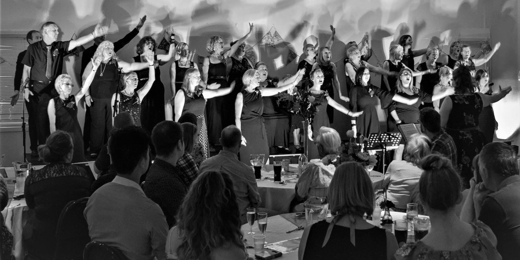 Summer Gala, Unity Choir, The Singing Elf, The Hetton Centre, July 2018