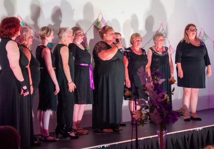 Summer Gala, Unity Choir led by The Singing Elf at The Hetton Centre, July 2018