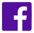 Facebook Icon Purple