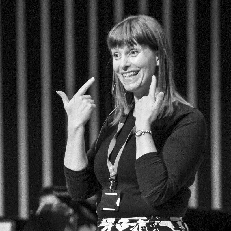 Sharon Durant, Durham Big Sing Workshop Leader, Gala Theatre Durham
