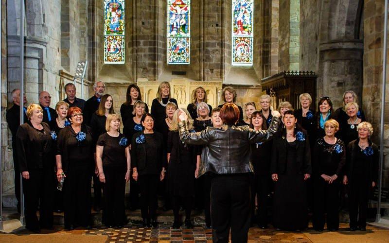 North East Gospel Choir led by Sharon Durant