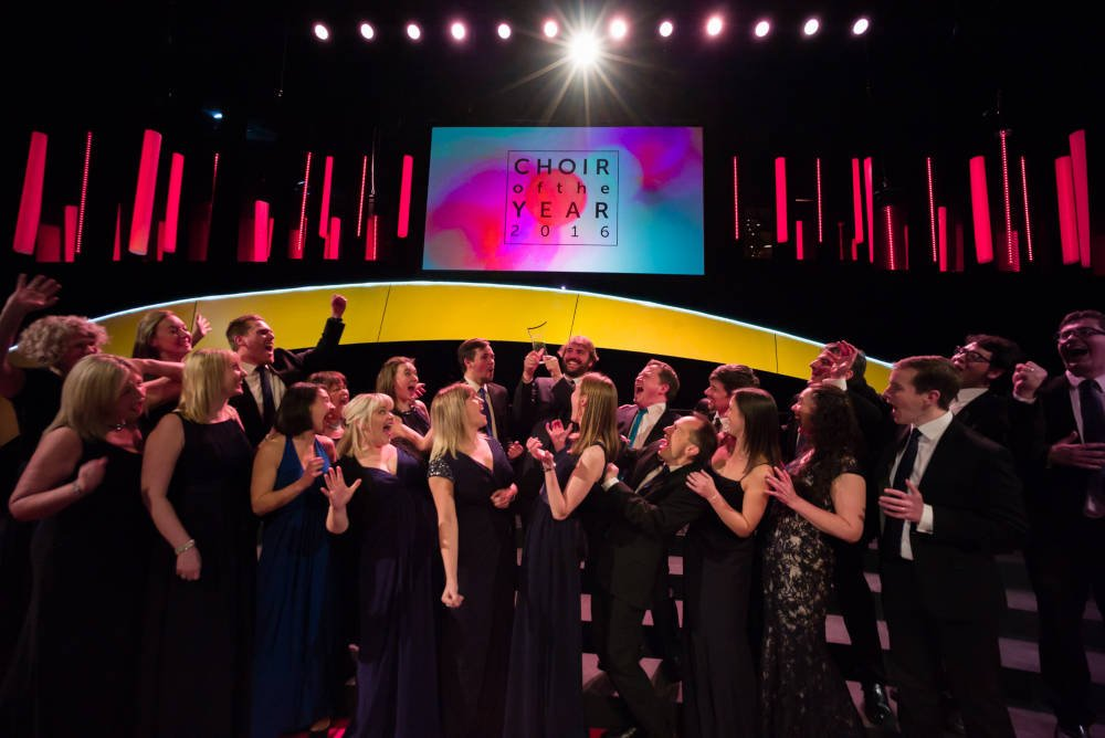 Simon Davies-Fidler, Voices of Hope, Choir of the Year 2016
