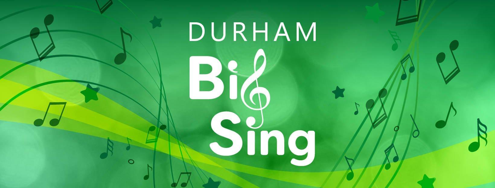 Durham Big Sing 2019 logo, The Singing Elf