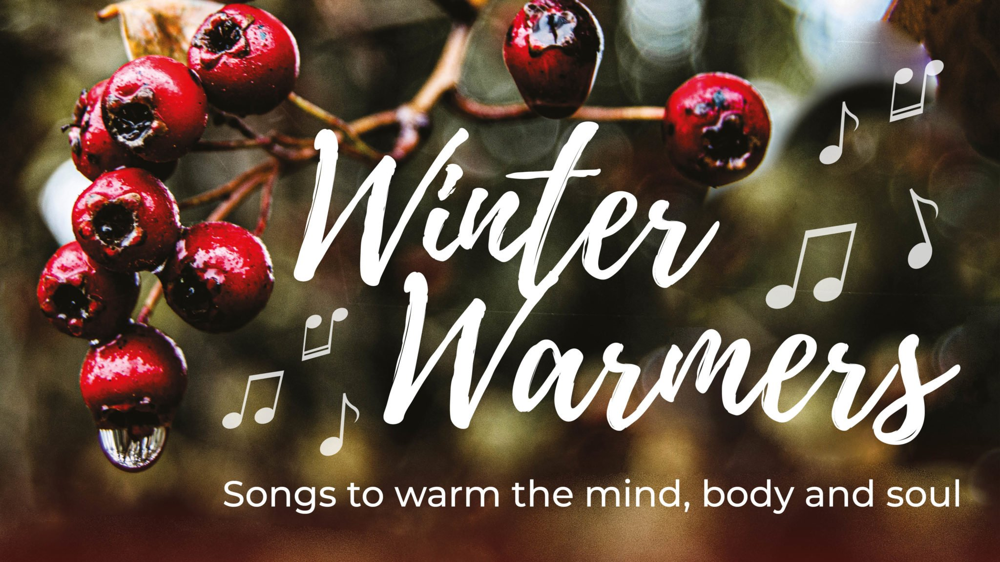 Winter Warmer drop-in sessions with Unity Choir & The Singing Elf