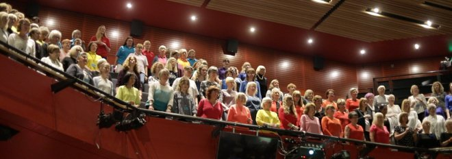 Durham Big Sing 2019, Gala Theatre, The Singing Elf