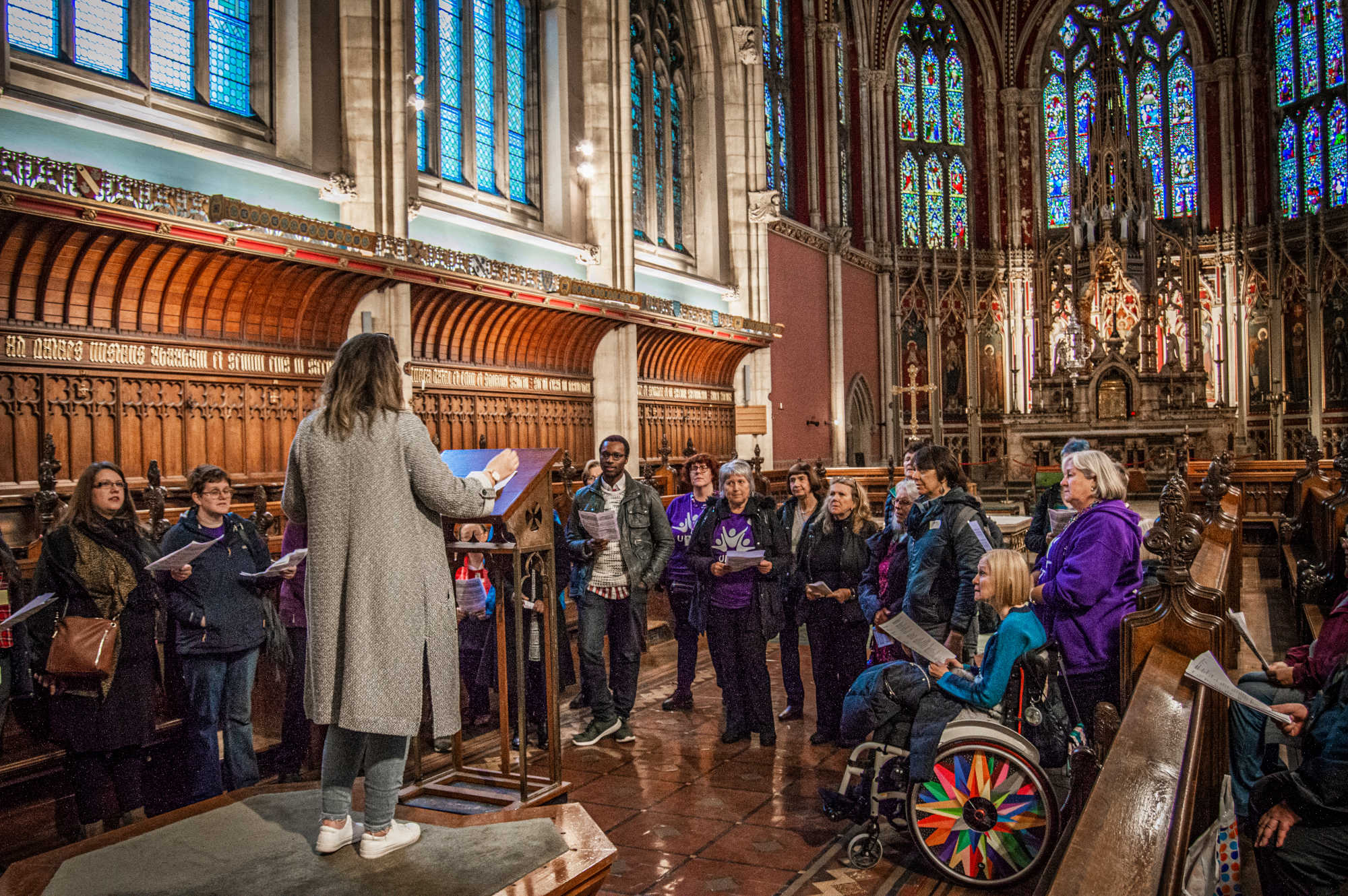 Sing the Spaces at Ushaw, The Singing Elf, Nov 2019