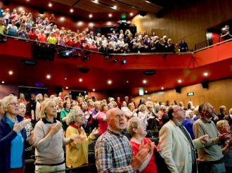 Durham Big Sing 2019, Gala Theatre, The Singing Elf
