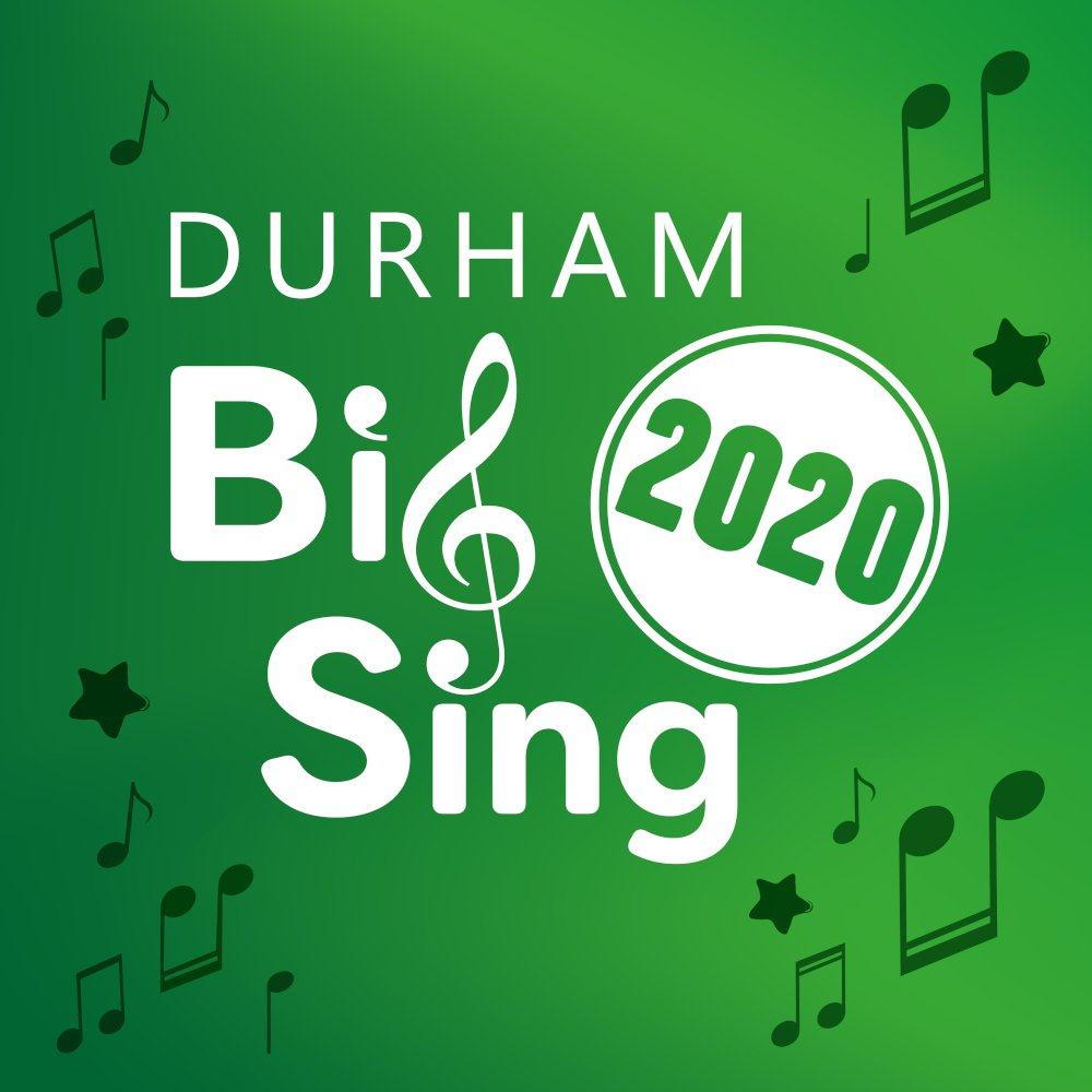 Durham Big Sing 2020 Logo, The Singing Elf